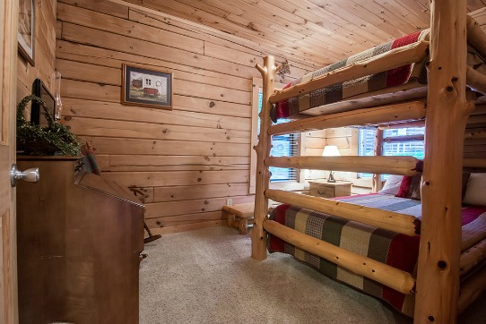3rd Bedroom with Full Over Full Bunk Beds