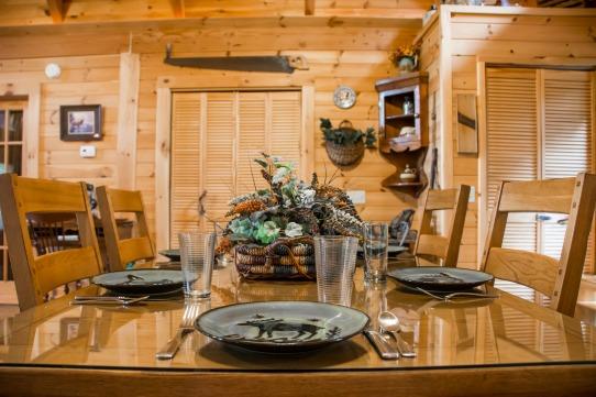 Elk Horn Cabin - Dining Table